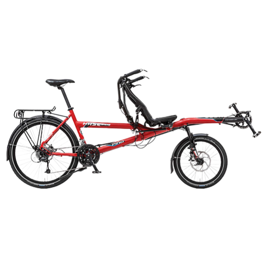 Red Hase Tandem bike