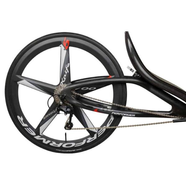 Cantus recumbent rear wheel