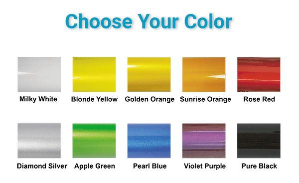JC20 colour options