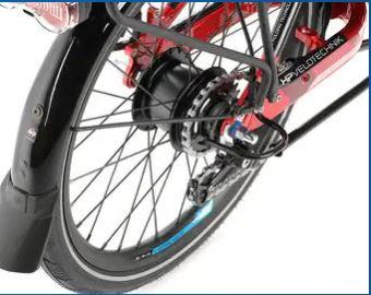 rear wheel gearing