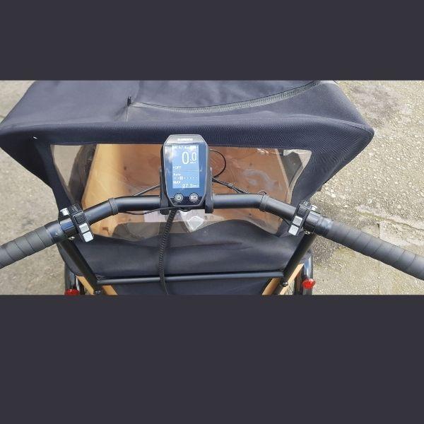 Cargo bike dash