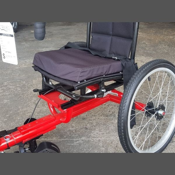 Handcycle seat
