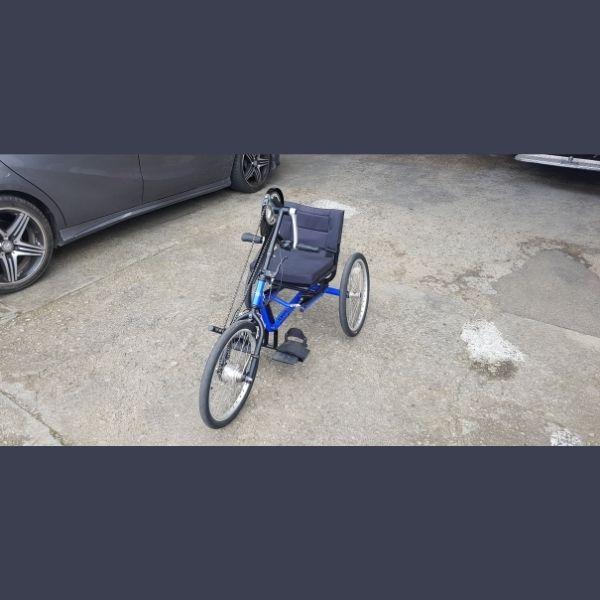 Handcycle side view