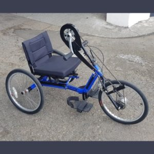 Close up handcycle