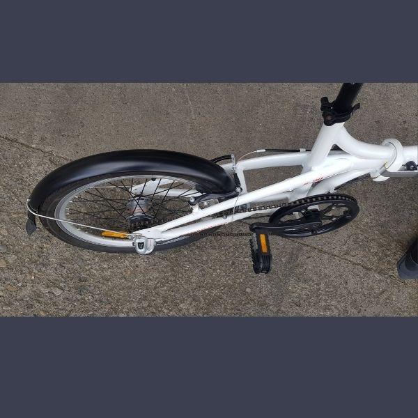 folding bike rear wheel